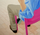Roze Stoel (Pink Chair)